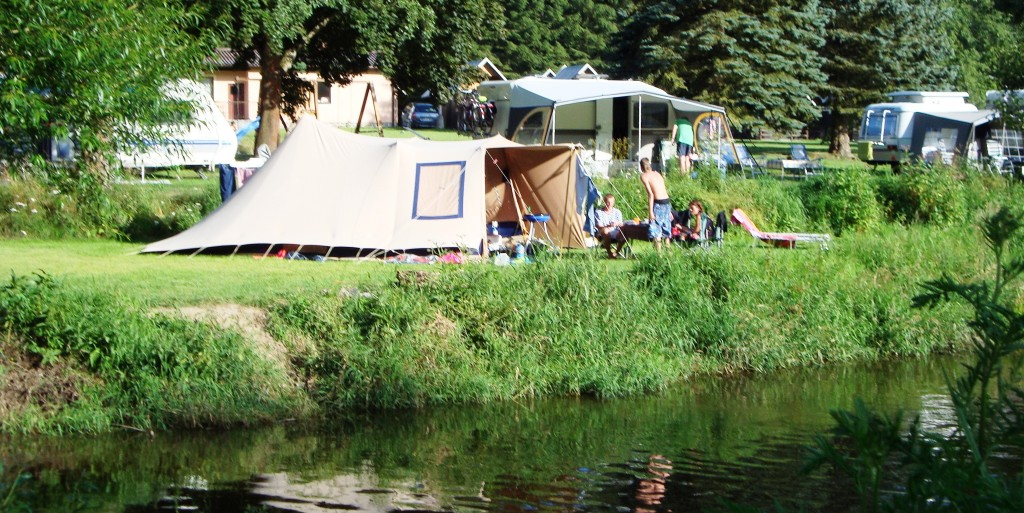Camping aan water