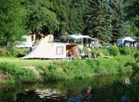 Campingplaats aan het water